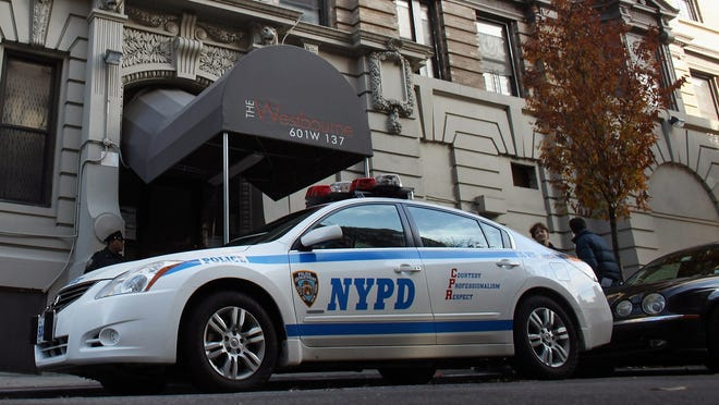 The mother of a man who was struck and killed by a N.Y.P.D. squad car has been billed for repairs to the vehicle.