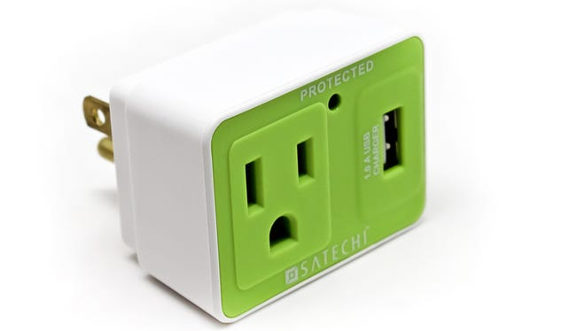 This tiny adapter will protect your devices from electricity spikes.