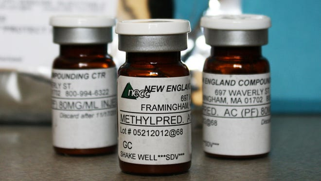 Vials of the injectable steroid product made by New England Compounding Center are implicated in a fungal meningitis outbreak.