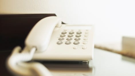 Your landline phone can be a hotbed for germs if you don't clean it regularly.