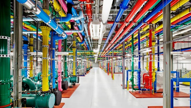 Google is opening a virtual window into the secretive data centers that serve as its nerve center.