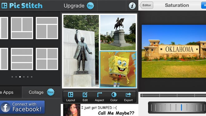 Pic Stitch is available for free on the iPhone, iPod Touch and iPad.