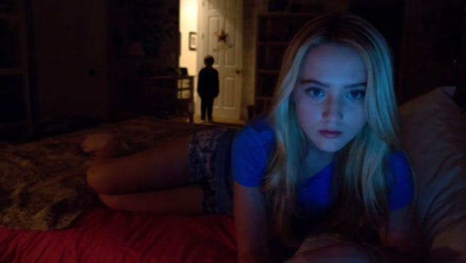 Don't look for anything new, aside from the recording technology, in found footage fright film 'Paranormal Activity 4,' starring Kathryn Newton.