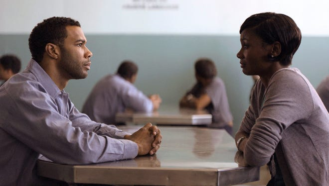 Omari Hardwick and Emayatzy Corinealdi star  in 'Middle of Nowhere,' about a couple whose  lives take drastic changes when Hardwick's character is incarcerated for eight years.