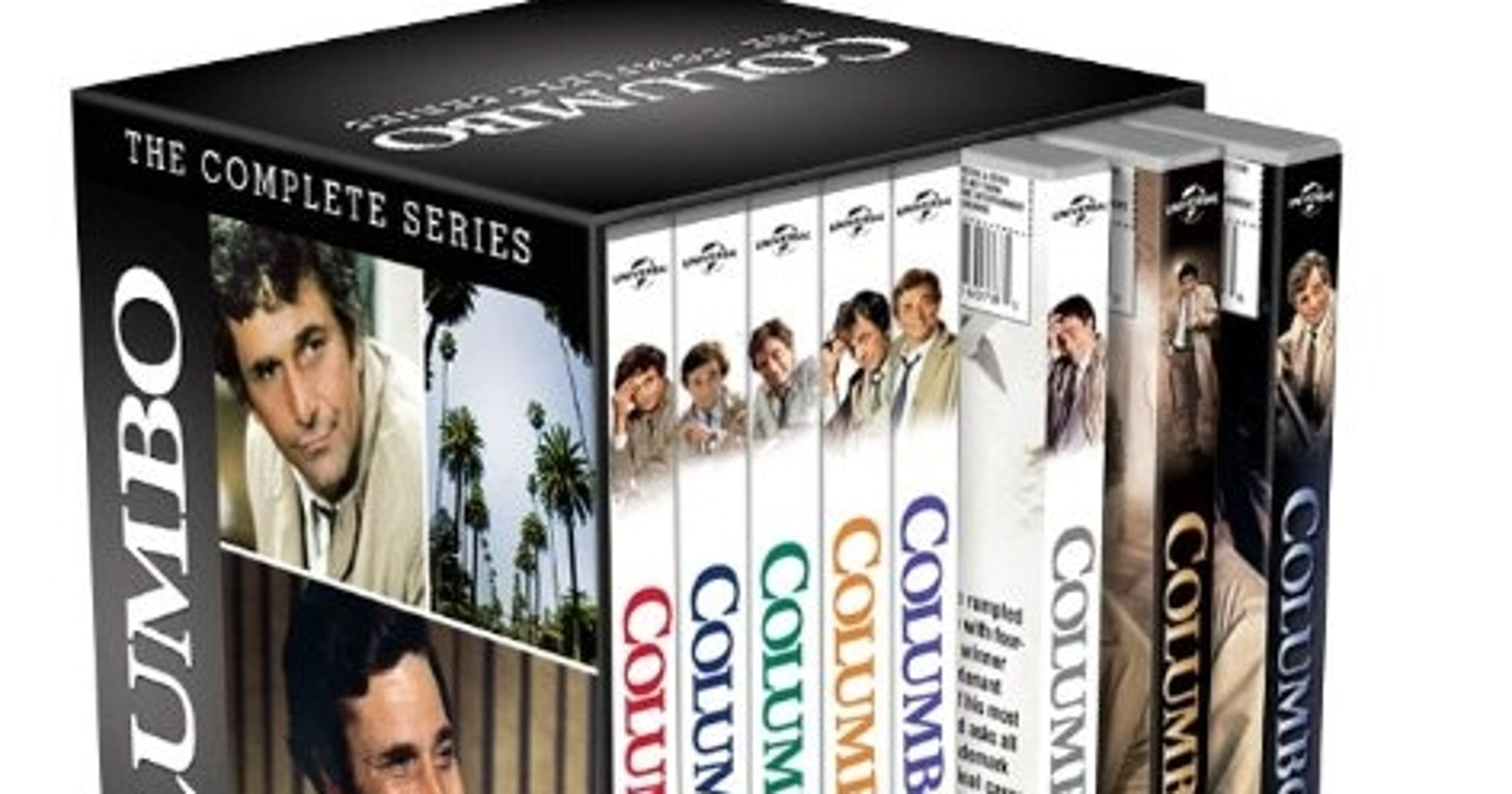 columbo the complete series available in 34 disc set. Black Bedroom Furniture Sets. Home Design Ideas