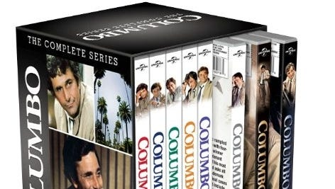 The 34-disc 'Columbo: The Complete Series' for the first time collects all 69 episodes and 24 TV movies that aired on NBC from 1968-78 and on ABC from 1989-2003.