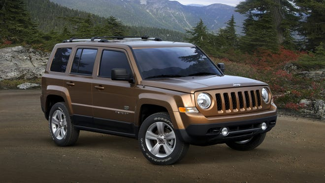 A 2011 Jeep Patriot. The 2011 and 2012 models are being probed by the feds for complaints of engine stalling.