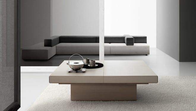 The Rebus is an electric-powered convertible table than can switch from a coffee table to a dinner table.