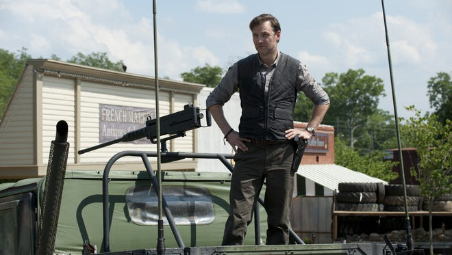 David Morrissey makes his long-awaited debut as the Governor this weekend on AMC's 'The Walking Dead.'