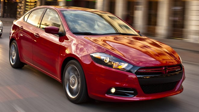Chrysler says it expects a lineup revamp, led by this Fiat-based 2013 Dodge Dart and the redone 2013 Ram pickup, will continue its profit momentum.
