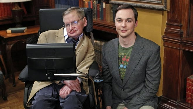 Stephen Hawking returns to 'The Big Bang Theory' Thursday, if only in voice form.