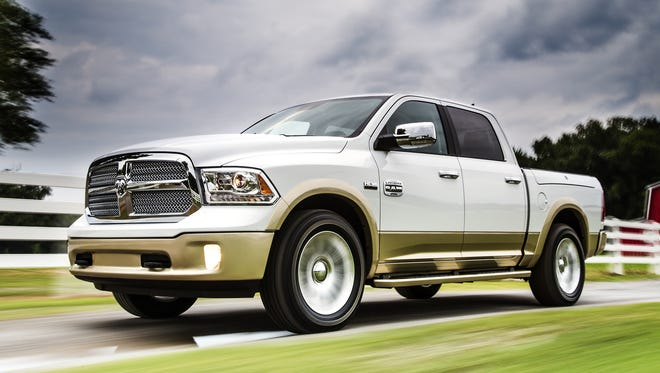 The redone 2013 Ram 1500 pickup.