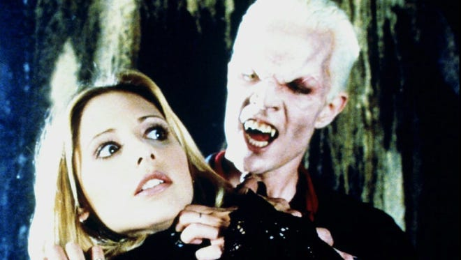 Scene from the 1997 Halloween episode of 'Buffy the Vampire Slayer.'