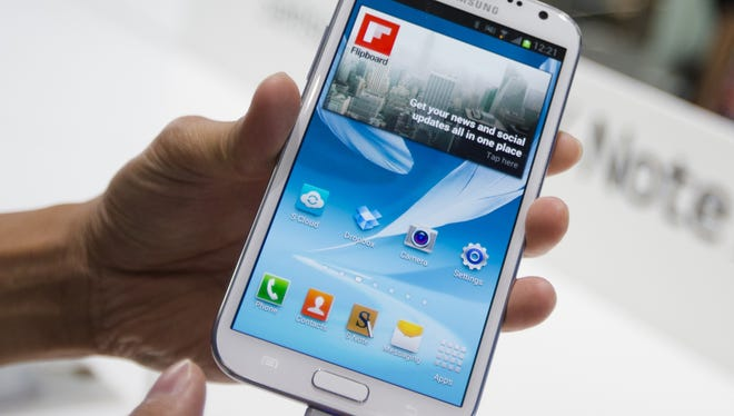 Samsung's Galaxy Note II was released in South Korea in September and in the U.S. in October.
