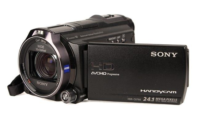 Sony's new Handycam has much better low-light performance than previous models.