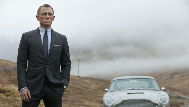 Daniel Craig returns as James Bond for a third time in the superbly cast, witty and grown-up 'Skyfall.'