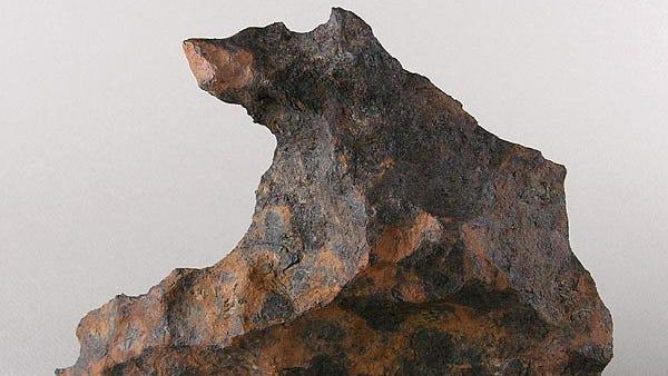 Canyon Diablo iron meteorite.