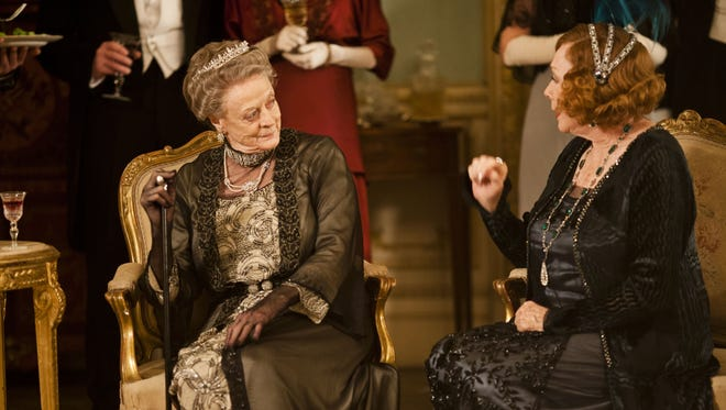 'Downton Abbey' creator Julian Fellowes is developing a new series for NBC about 'The Gilded Age.' Season 3 of 'Downton' begins airing in the USA Jan. 6 on PBS. Shirley MacLaine, right, joins Maggie Smith this season.