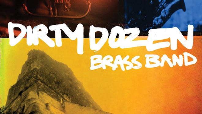 This is the cover for the album 'Twenty Dozen' by the musical group Dirty Dozen Brass Band.