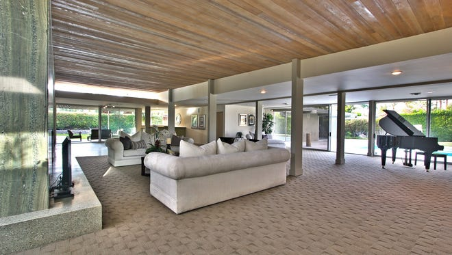 Though inventory is down, sales of million-dollar plus homes, like this one in Rancho Mirage, Calif., are up in 2012.