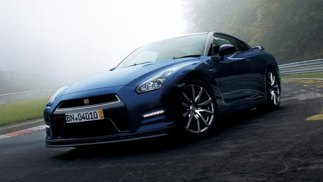 The redone 2014 Nissan GT-R, now with 545 horsepower.