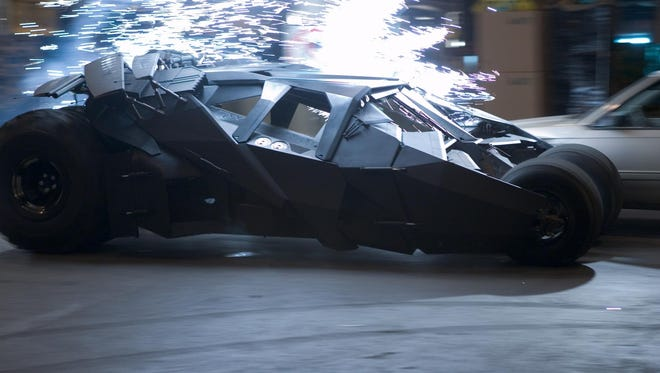 The Tumbler, director Christoper Nolan's take on the Batmobile, will get an up close look in the special features of 'The Dark Knight Rises' DVD, out Dec. 4, 2012.