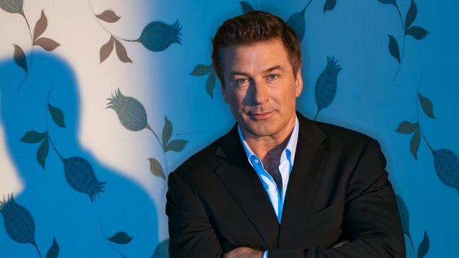 Alec Baldwin photographed at the Crosby Street Hotel NYC for USA Weekend.