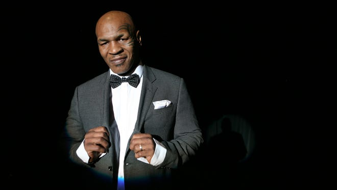 Mike Tyson prepares  for his April one-man show March 9 in Las Vegas.