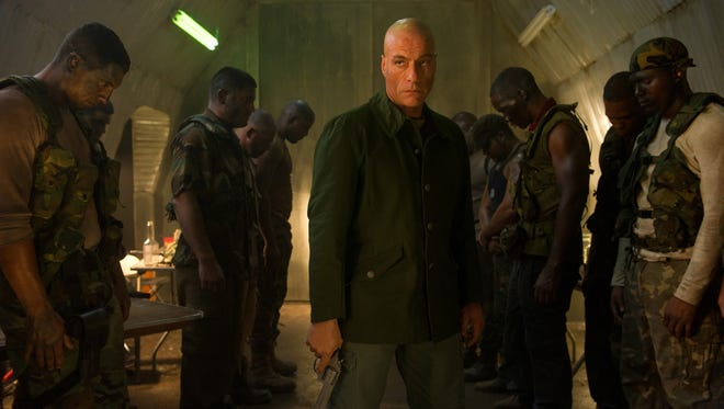 Jean-Claude Van Damme stars in the latest, forgettable incarnation of the low-budget 'Soldier' franchise, 'Universal Soldier: Day of Reckoning.'