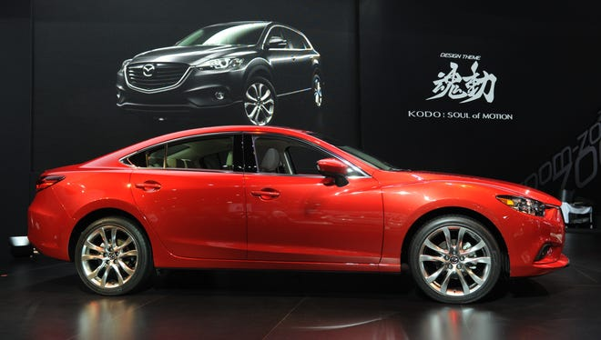 The redesigned 2014 Madza 6 will have both gasoline and diesel models in the U.S. it was announced at the car's U.S. unveiling at the L.A. Auto Show.