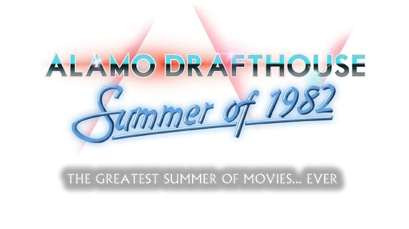 The Alamo Drafthouse presents the Summer of 1982 Film Series.