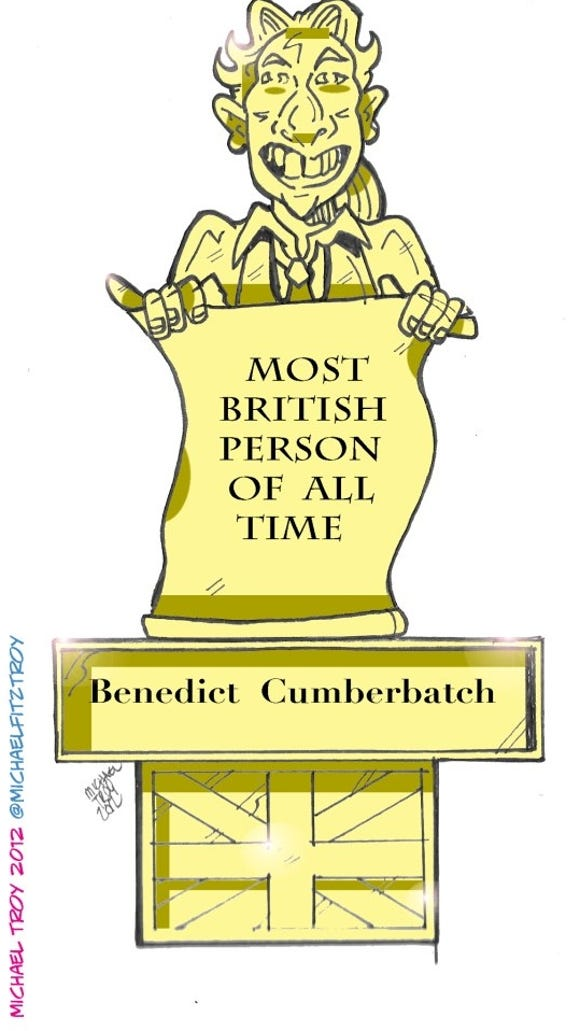 Benedict Cumberbatch: Most British Person of All Time