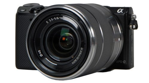 Sony's new NEX-5R comes with downloadable apps.