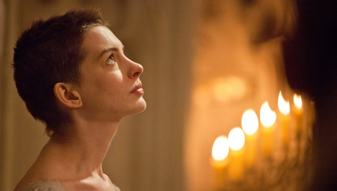Anne Hathaway as Fantine in 'Les Miserables.'