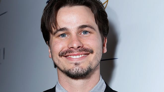 Jason Ritter, star of 'Parenthood,' at the launch of charity Tie The Knot.