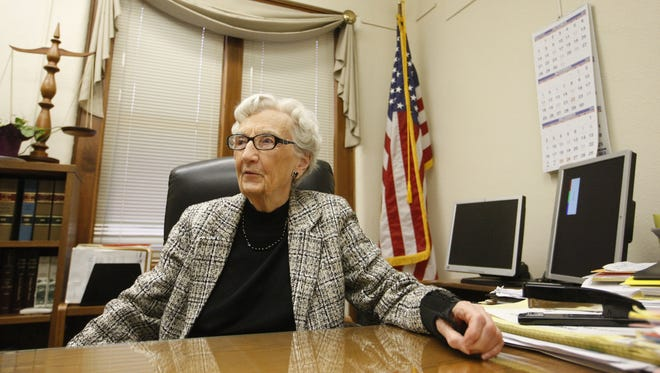 Judge Ruth Klotz, 90, who handles probate cases, is retiring after more than 30 years.