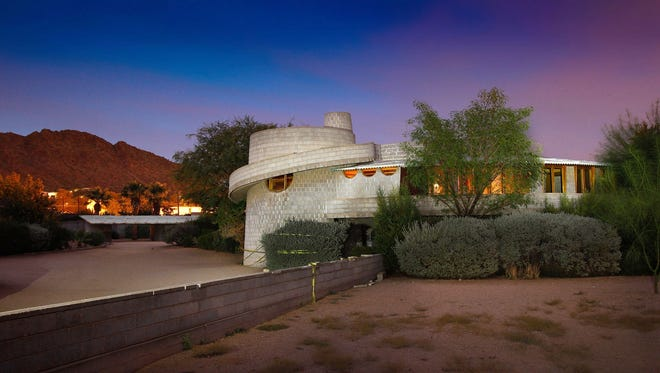 The David and Gladys Wright House in Phoenix.