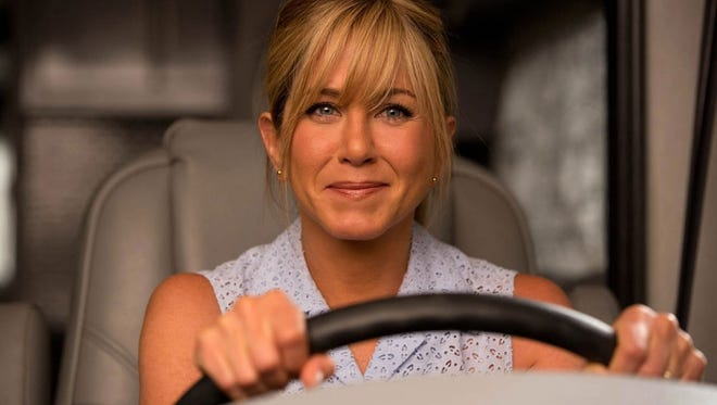 Jennifer Aniston stars as a a cynical stripper pretending to be an average housewife to aid a drug-smuggling operation.