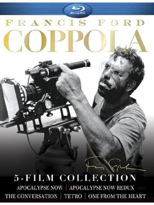 The new Francis Ford Coppola 5-Film Collection (1974-2009, Lionsgate, PG and R; Blu-ray, $40) offers a diverse sampling of the five-time Oscar winner's career.