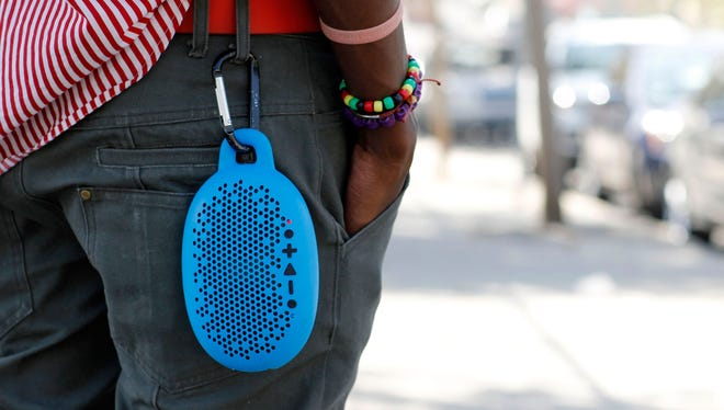 The Urchin portable Bluetooth speaker by BOOM.