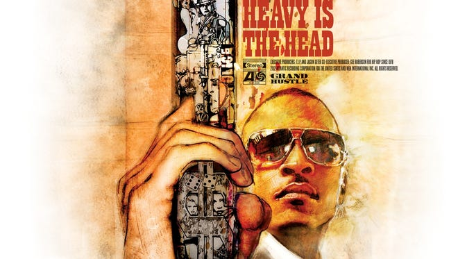 T.I. releases his new album 'Trouble Man: Heavy is the Head.'