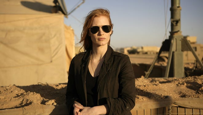 Jessica Chastain plays a member of the elite team of spies and military operatives who secretly devoted themselves to finding Osama bin Laden in 'Zero Dark Thirty.'