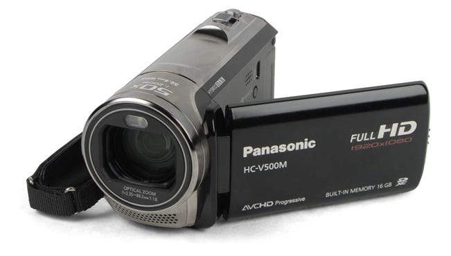 The Panasonic V700 is a great camcorder for a reasonable price.