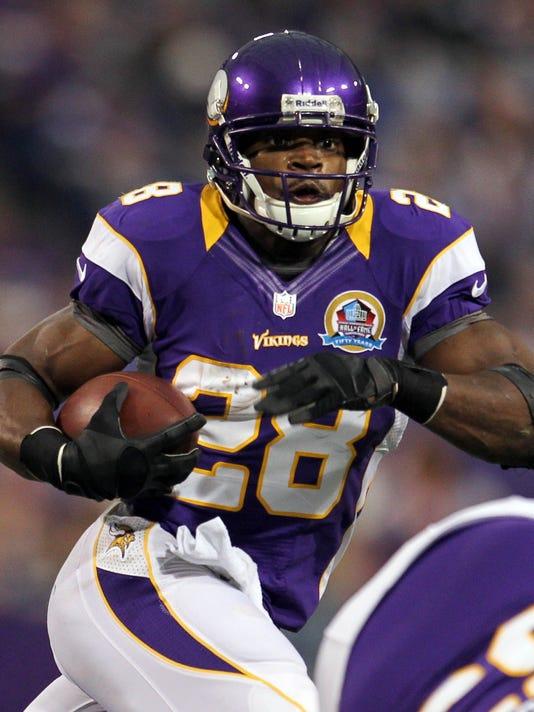 12-20-peterson. Minnesota Vikings running back Adrian Peterson has six games  ... 233304ce6