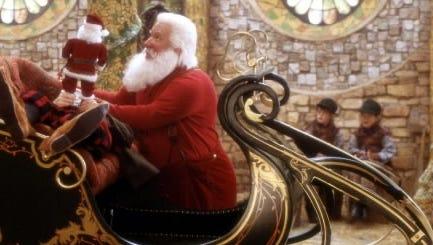 Santa, obviously doing very conservative Santa things.