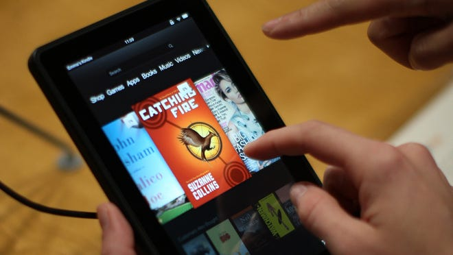 The number of Americans who read an e-book grew seven percent from 2011 to 2012.