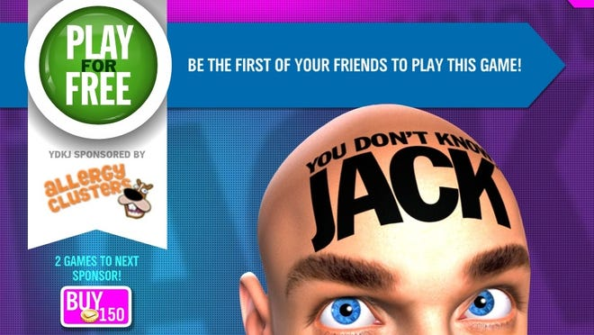 Jellyvision's You Don't Know Jack has been released on the iPad, iPhone and iPod touch.