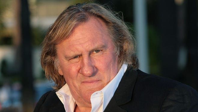 French actor Gerard Depardieu in Cannes in May 2010.