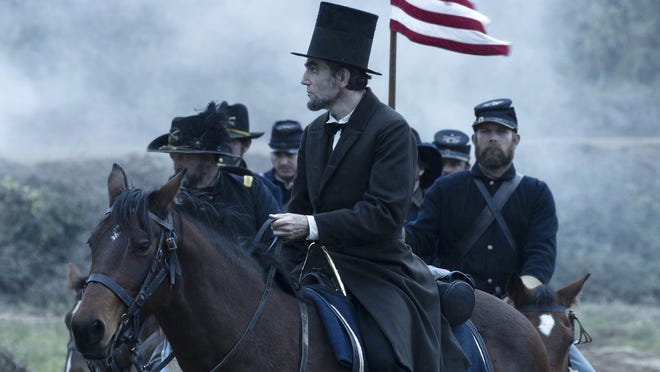 Daniel Day-Lewis in a scene from the Academy Award best picture nominee 'Lincoln.'