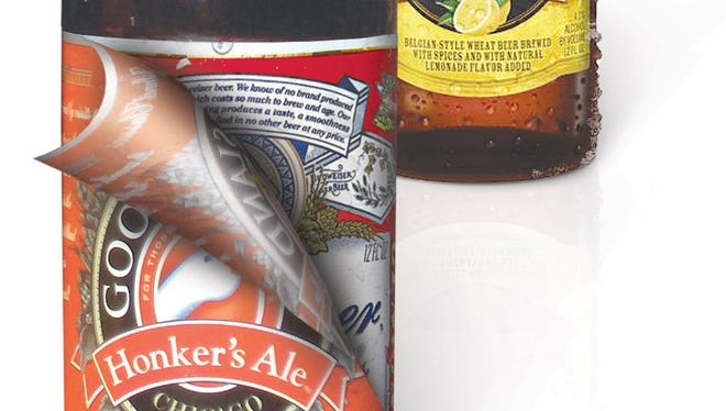 Anheuser-Bush InBev have created offshoot brands that resemble craft beers.